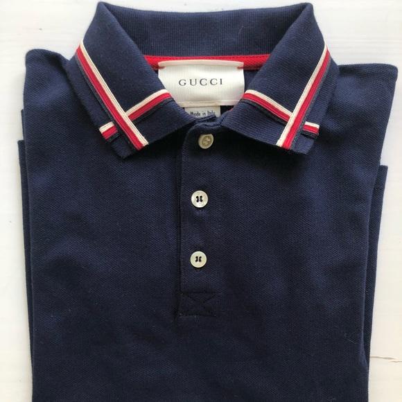 12f74841 Gucci Shirts & Tops | Authentic Polo Kids Shirt | Poshmark